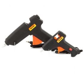 Набор клеевых пистолетов SPARTA 93038, 7/11 мм, 20/100 Вт, 3/8 г/мин, в кейсе, выключатель