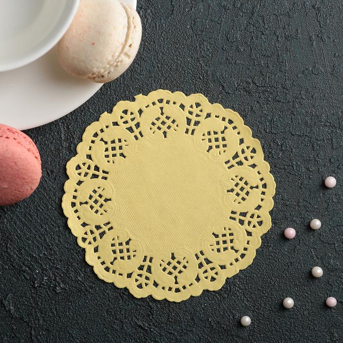 Салфетка для торта и десерта 10 см