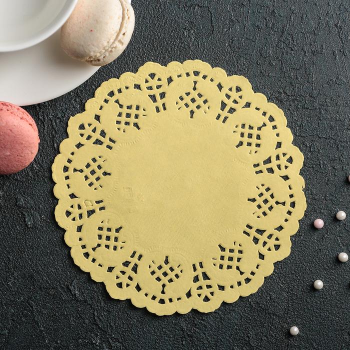 Салфетка для торта и десерта 14 см