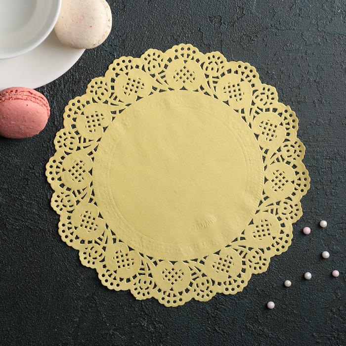 Салфетка для торта и десерта 19 см