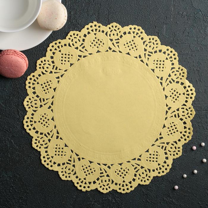 Салфетка для торта и десерта 24 см