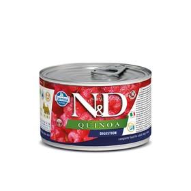 Влажный корм Farmina N&D Dog для собак мини пород, киноа, для поддержки пищеварения, 140 г