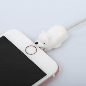 Протектор для провода «Белый медвежонок», 4 х 2 см Ош