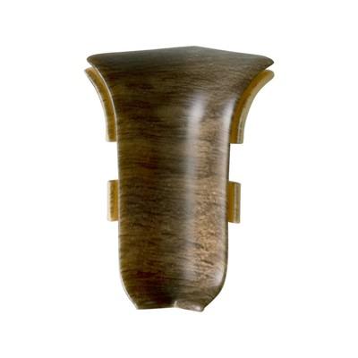 Внутренний угол для плинтуса SALAG 68 Дуб Кальвадос, (1шт блистер)