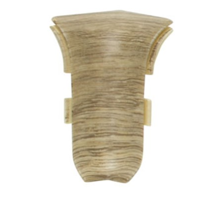 Внутренний угол для плинтуса SALAG 77 Дуб Каньон, (1шт блистер)