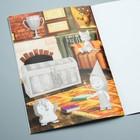 Книга с аппликациями, Маша и Медведь, 20 страниц - Фото 4