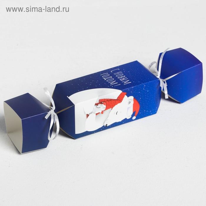 Складная коробка—конфета «Тёплых объятий», 11 × 5 × 5 см