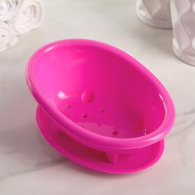 Подставка для губки «Ванна», 14,6×10,3×6,3 см, цвет МИКС Ош