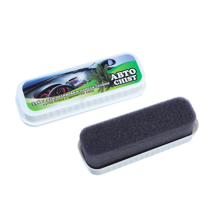 Губка для приборной панели CHIST 050, с ароматом хвои