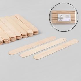 Шпатель для депиляции, деревянный, 20 × 2,4 см