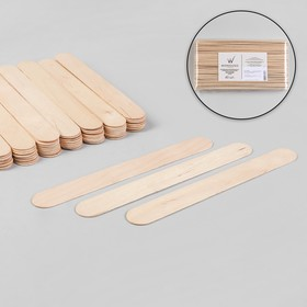 Шпатель для депиляции, деревянный, 20 × 2,4 см Ош