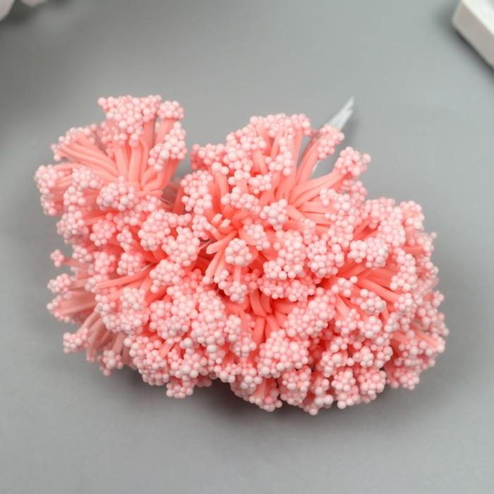 """Цветы для декорирования """"Розовые мечты"""" 1 букет=12 цветов 16х9 см"""