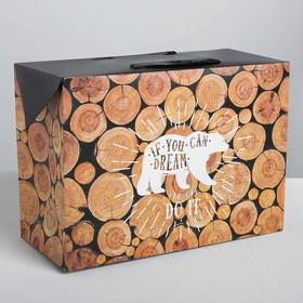 Пакет—коробка Do it, 28 х 20 х13 см Ош