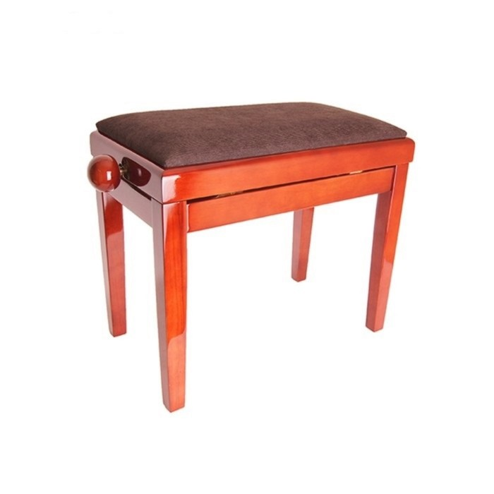 Банкетка Rin HY-PJ018B-GLOSS-DARK-MAHO темное красное дерево/коричневый