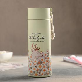 Бутылка «Весна в лесу», 420 мл, цвет и рисунок МИКС Ош