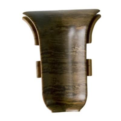 Внутренний угол для плинтуса SALAG 10 Орех, (1шт блистер)