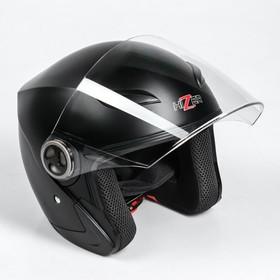 Шлем HIZER 219-2, размер M, черный матовый Ош