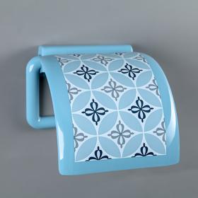 Держатель для туалетной бумаги «Круги»