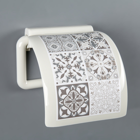 Держатель для туалетной бумаги IDEA «Пэчворк» Ош