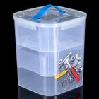 Контейнер для хранения инструментов 10 л, с вкладышами