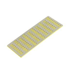 Брусок абразивный алмазный FIT 38333, Р 400, желтый, покрытие из порошка технических алмазов   44973 Ош