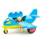 Игрушка «Модель самолета JUMBO», с 2 фигурками, новые цвета