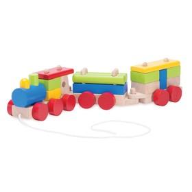 Деревянная игрушка «Паровозик»