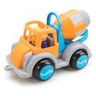 Машинка «Цементовоз JUMBO», новые цвета, с 2 фигурками