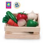 Игровой набор «Овощи и грибы для нарезки», в ящике