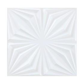 Интерьерная панель 3D бамбук Chrysan 0,5х0,5 м Ош