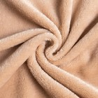 Плед с рукавами, цвет бежевый, 150х200 см, рукав — 27х52 см, аэрософт - Фото 3