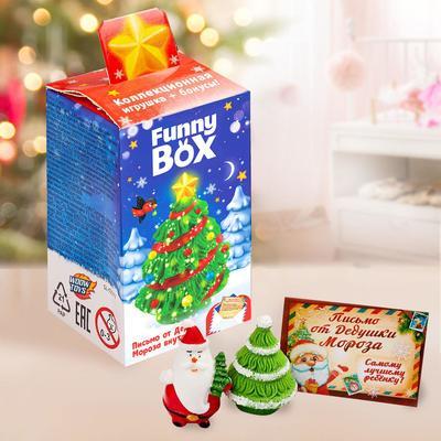 Набор для детей Funny Box «Ёлочка»: конверт, инструкция - Фото 1