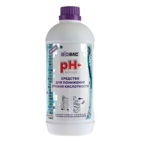 Средство для понижения уровня кислотности 'PH-Пул минус', 1 л Ош