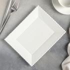 Тарелка десертная Magistro «Лакомка», 20×16 см