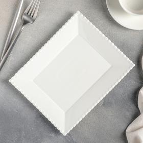Тарелка десертная «Лакомка», 20×16 см
