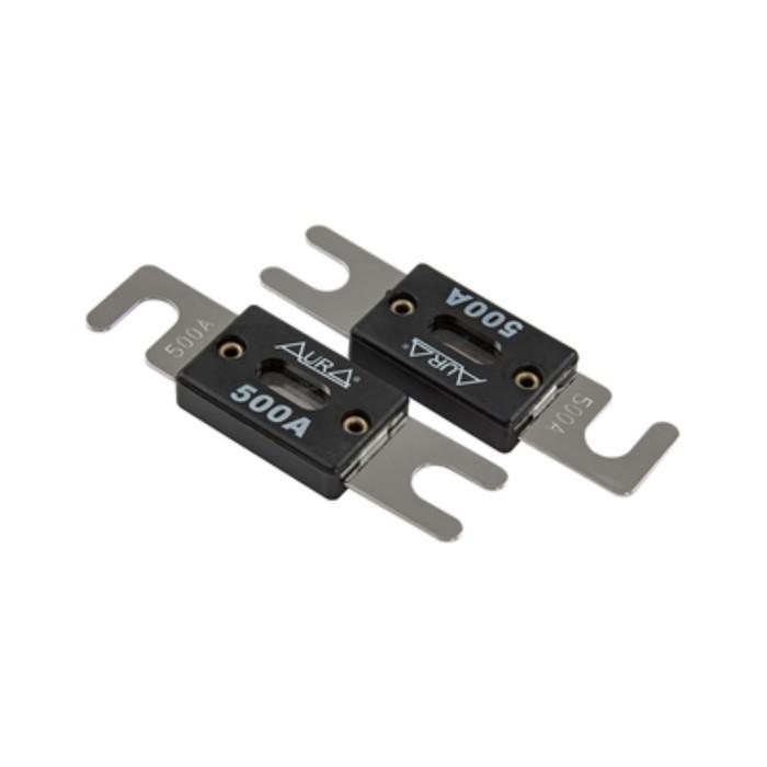 500А предохранитель ANL-типа Aura FAL-N501 ANL, 500A, набор 2 шт, никель
