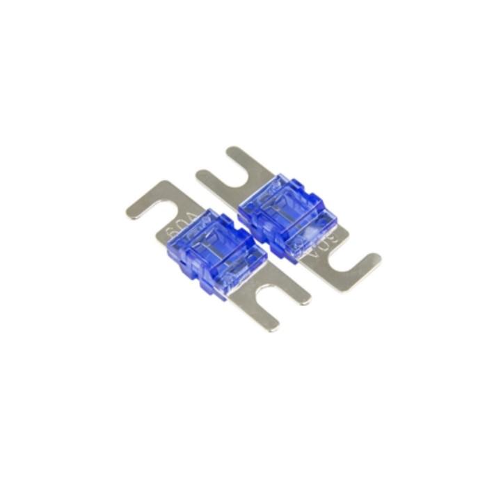 60А предохранитель miniANL-типа Aura FML-N060 miniANL, набор 2 шт, никель