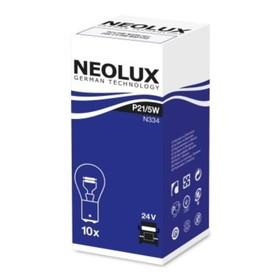 Лампа автомобильная NEOLUX N334 P21/5W 24V BAZ15D