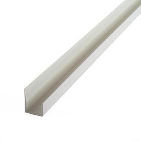 Заглушка для экономпанели, цвет белый L=120см Ош