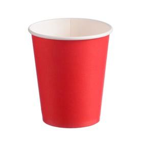 "Стакан ""Красный"" 250 мл, диаметр 80 мм"