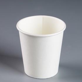 Стакан 'Белый', для горячих напитков, 185 мл, диаметр 73 мм Ош