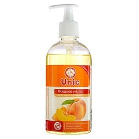 """Жидкое мыло для рук Unic """"Персик и абрикос"""", 500 мл"""