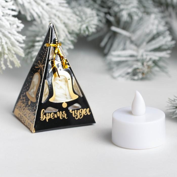 Свеча LED Время волшебства, мод,CPL-005, 4,7х7,3см