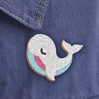 """Фреска, значок """"Белый кит"""" - Фото 1"""