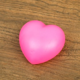 Ночник пластик 'Сердце' 1Вт RGB МИКС 3х6х6,5 см. Ош