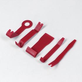 Набор инструмента по пластику усиленный, 5 предметов Ош