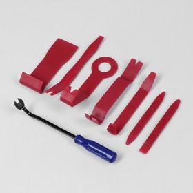 Набор инструмента по пластику TORSO, усиленный, 8 предметов Ош