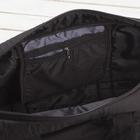 Сумка спортивная, отдел на молнии, наружный карман, цвет чёрный - Фото 3