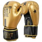 Перчатки боксёрские соревновательные FIGHT EMPIRE, 12 унций, цвет золотой