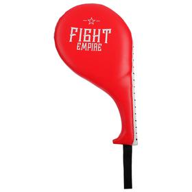 Лапа-ракетка тренировочная FIGHT EMPIRE, цвет красный